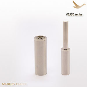 300mAh Mini Stainless Steel EGO Auto Battery with Fs Keyring, Mega Cartomizer Electronic Cigarette (FS520)