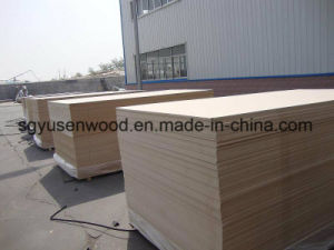 2017 Hot Sale Raw MDF Board Plain MDF Board pictures & photos