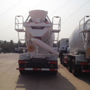 HOWO 8X4 12-16m3 Cement Mixer Tanker Truck pictures & photos