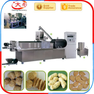 Textured Vegetarian/ Soybean Protein/ Soya Nuggets Food Making Machine pictures & photos