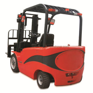 Four Fulcrum Counterweight Forklift pictures & photos