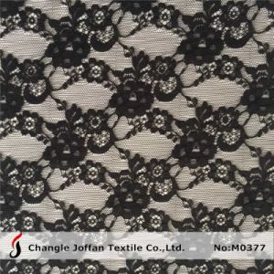 Black Allover Lace Fabric for Dress Material (M0377) pictures & photos