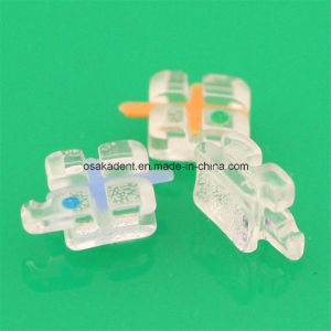 New Products Roth/Mbt Ceramic Bracket (MESH base) /Dental Orthodontic Material pictures & photos