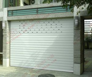Residential Electrical Aluminum Roller Shutter Door (BH-SD18) pictures & photos
