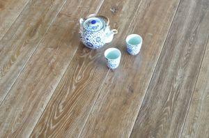 Smoked Oak Engineered Wood Flooring / Parquet pictures & photos