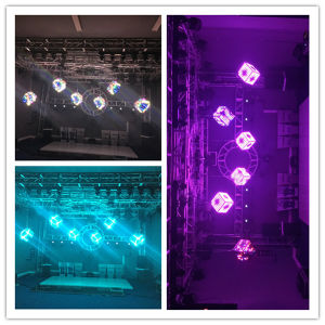 3D LED Magic Cube Stage Party Disco Lighting Bar Colored pictures & photos