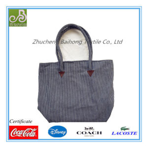 Y/D Striped Twill Tote/ Leisure/Shopping Bag pictures & photos