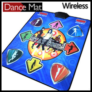 Wireless 32 Bit Single Play Dance Pad with 2GB Memory Card pictures & photos