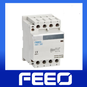 Mini Electromagnetic DIN Rail Contactor pictures & photos