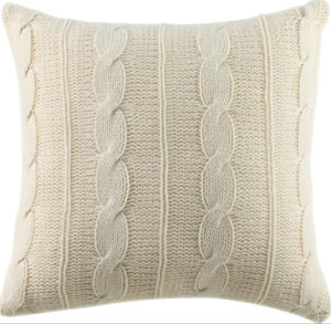 Good Quality Soft Knitted Plush Cushion pictures & photos