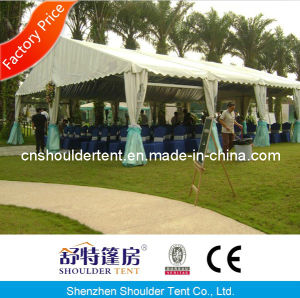 20X50m Luxury Decoration Shoulder Party Tent for 1000 People pictures & photos