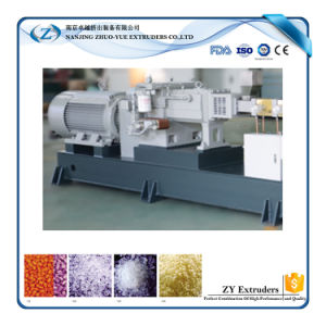Hte PP Granule Masterbatch Twin Screw Extruder pictures & photos