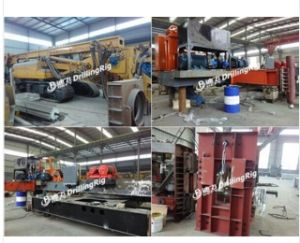 20m Dfls-20 Hydraulic Static Used Bore Pile Driver Machine Price pictures & photos