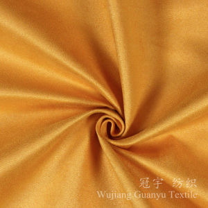 Polyester Suede Faux Microfiber Leather Fabric for Sofa pictures & photos