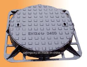 Manhole Cover Ductile Iron B125/ C250/ D400 Dia600 pictures & photos