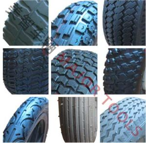 Pneumatic Rubber Wheel Inflatable Bicycle Tyre 3.00-8 pictures & photos