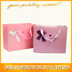 Paper Gift Bag with Ribbon Bow (BLF-PB065) pictures & photos