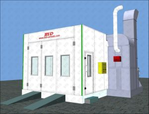 Car Paint Booth/Car Spray Booth for Sale pictures & photos