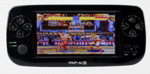 Hot Selling 4.3 Inch MP6 Game Player Console with 3D Games Pap-Kiii