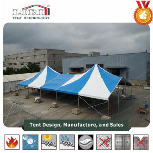 5X5m Luxury High Peak Waterproof Aluminum Gazebo Party Tent pictures & photos