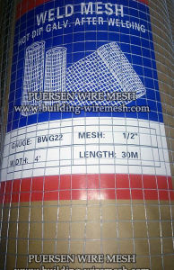 Galvanized Welded Wire Mesh Panel Chicken Cage pictures & photos