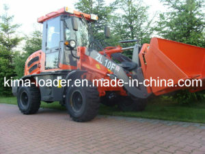 Construction Machinery 1.0 Ton Wheel Loader EPA CE Euro 3 (910)