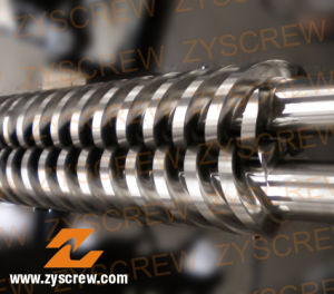 PVC Granules Parallel Twin Barrel and Screw pictures & photos
