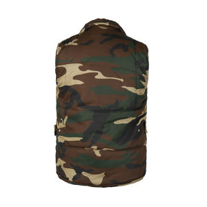 Army Green Wholesale Outdoor Poly/Cotton Vest pictures & photos