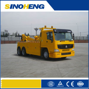 HOWO Pull Lift Tow Heavy Recovery Vehicle pictures & photos