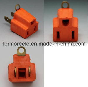 Us 3 Pin to America Rubber Multi World Travel Adapter pictures & photos