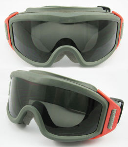 Army Tactical Goggles with High Quality Lense pictures & photos