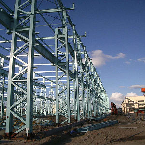 Prefabricated Steel Frame Construction Warehouse pictures & photos