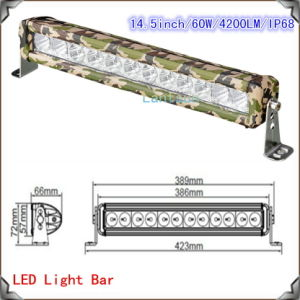 New Camouflage LED Light Bar 13-60W Factory pictures & photos