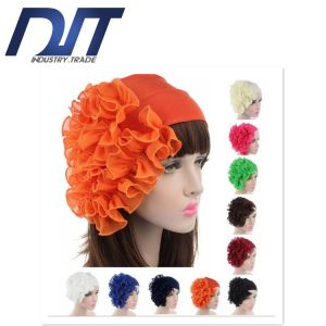 Wholesale Colorful Elastic Wide Floral Flower Dance Headband