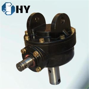 One Input One Output Transmission Gear Box for Mower pictures & photos