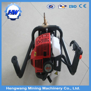 80m Depth Backpack Portable Core Drill/Hand Held Gold Rock Drilling Equipment pictures & photos