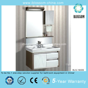 New Style Modern Design PVC Bathroom Cabinet (BLS-16009) pictures & photos