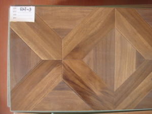 8mm V-Groove E1 AC4 HDF Parquet Laminated Wooden Laminate Wood Flooring pictures & photos