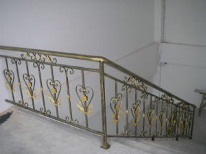 Outdoor Metal Stair Railing pictures & photos