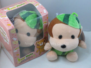 Recordable Stuffed Toy (Watermelon Monkey) , Musical Stuffed Toy pictures & photos