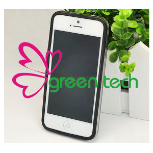 2015 for iPhone 4S Bumper Cases Transparent Candy Color Silicone