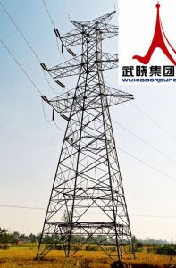 Steel Pipes of Transmission Tower pictures & photos