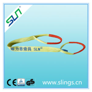 Double Layer Safety Factor 5: 1 3tx3m 100% Polyester Lifting Product pictures & photos