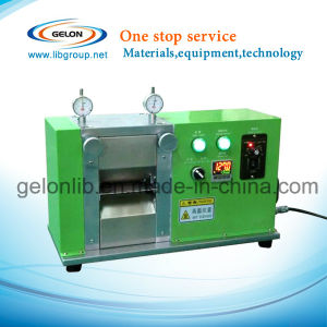 Battery Hot Rolling Press Calendering Machine for Lithium Ion Battery Lab Research pictures & photos