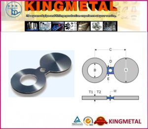 Spectacle Blind Steel Flange 150#, 300#, 400#, 600# pictures & photos