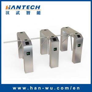 Three Arm Drop Turnstile Gates for Metros/Bus Stations/BRT pictures & photos