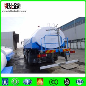 Hydraulic Steering 371HP HOWO Fuel Tank Truck pictures & photos