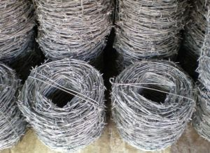 High Quality Low Carbon Galvanized Barbed Wire pictures & photos
