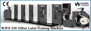 Intermittent Rotary Offset Label Printing Machine (WJPS-350) pictures & photos