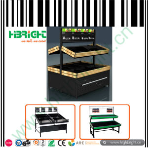 Black Supermarket Vegetable Rack for Sale pictures & photos